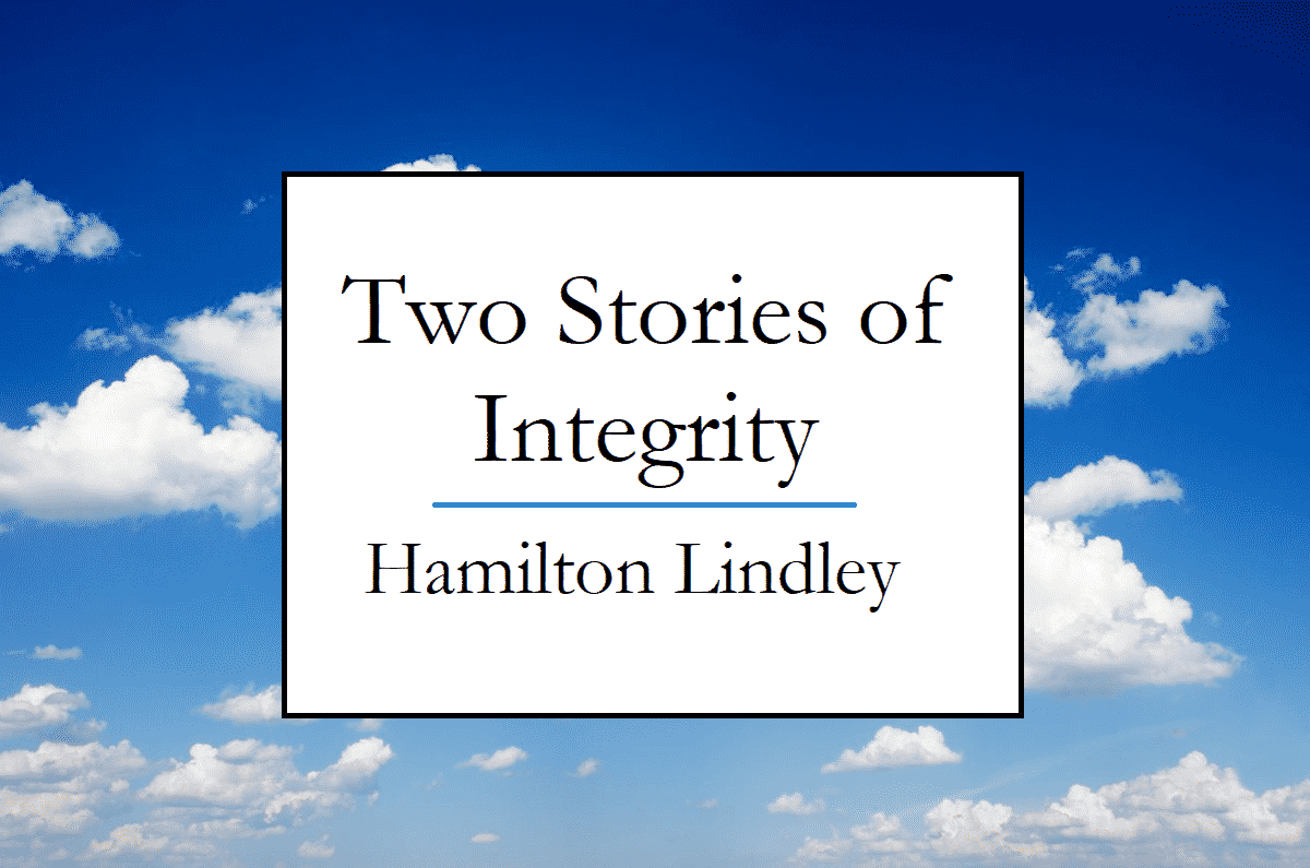 Two Stories of Integrity